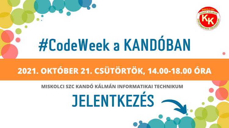 CodeWeek a Kandóban